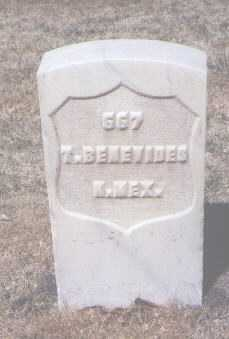 BENEVIDES, T. - Santa Fe County, New Mexico | T. BENEVIDES - New Mexico Gravestone Photos