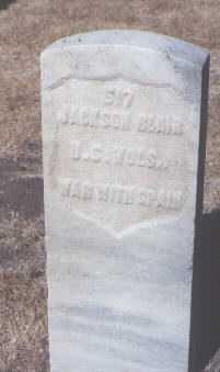 BLAIR, JACKSON - Santa Fe County, New Mexico   JACKSON BLAIR - New Mexico Gravestone Photos