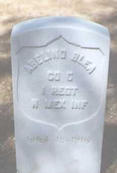 BLEA, ABELINO - Santa Fe County, New Mexico   ABELINO BLEA - New Mexico Gravestone Photos