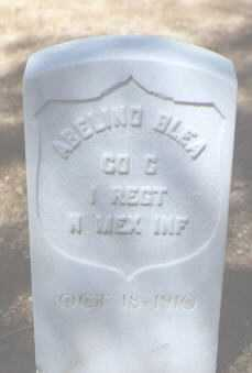 BLEA, ABELINO - Santa Fe County, New Mexico | ABELINO BLEA - New Mexico Gravestone Photos