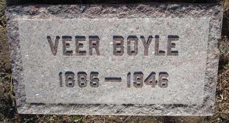 BOYLE, VEER - Santa Fe County, New Mexico | VEER BOYLE - New Mexico Gravestone Photos
