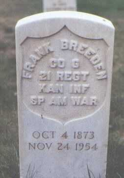 BREEDEN, FRANK - Santa Fe County, New Mexico | FRANK BREEDEN - New Mexico Gravestone Photos