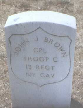 BROWN, JOHN J. - Santa Fe County, New Mexico | JOHN J. BROWN - New Mexico Gravestone Photos