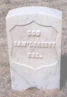 CREEVY, SAMUEL - Santa Fe County, New Mexico | SAMUEL CREEVY - New Mexico Gravestone Photos