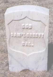 CREEVY, SAMUEL - Santa Fe County, New Mexico | SAMUEL CREEVY - New Mexico Gravestone Photos
