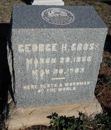 CROSS, GEORGE H. - Santa Fe County, New Mexico | GEORGE H. CROSS - New Mexico Gravestone Photos