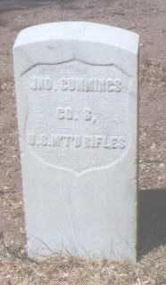 CUMMINGS, JNO. - Santa Fe County, New Mexico   JNO. CUMMINGS - New Mexico Gravestone Photos