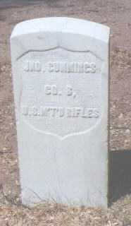 CUMMINGS, JNO. - Santa Fe County, New Mexico | JNO. CUMMINGS - New Mexico Gravestone Photos