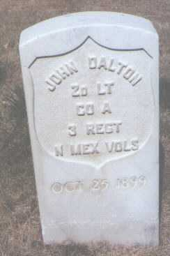 DALTON, JOHN - Santa Fe County, New Mexico | JOHN DALTON - New Mexico Gravestone Photos