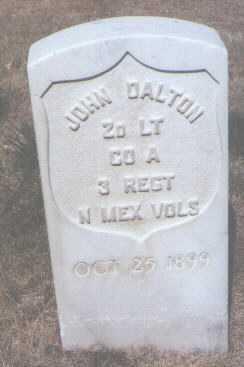 DALTON, JOHN - Santa Fe County, New Mexico | JOHN DALTON - New Mexico Gravestone Photos