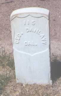 DANLAVY, GEORGE - Santa Fe County, New Mexico | GEORGE DANLAVY - New Mexico Gravestone Photos