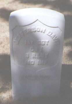 DAVIS, JEFFERSON - Santa Fe County, New Mexico | JEFFERSON DAVIS - New Mexico Gravestone Photos