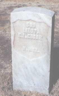 EDGAR, E. J. - Santa Fe County, New Mexico | E. J. EDGAR - New Mexico Gravestone Photos