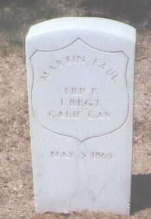 FAUL, MARTIN - Santa Fe County, New Mexico | MARTIN FAUL - New Mexico Gravestone Photos