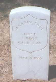 FAUL, MARTIN - Santa Fe County, New Mexico | MARTIN FAUL - New Mexico Gravestone Photos