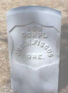 FISCUS, JOHN (JNO.) W. - Santa Fe County, New Mexico | JOHN (JNO.) W. FISCUS - New Mexico Gravestone Photos