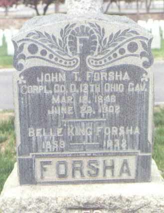FORSHA, JOHN T. - Santa Fe County, New Mexico | JOHN T. FORSHA - New Mexico Gravestone Photos