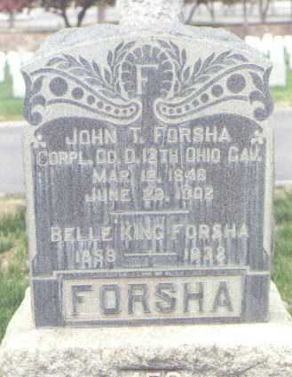 FORSHA, JOHN T. - Santa Fe County, New Mexico | JOHN T. FORSHA - New Mexico Gravestone Photos