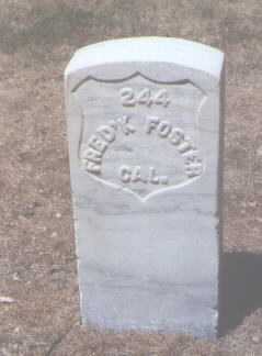 FOSTER, FREDERICK - Santa Fe County, New Mexico | FREDERICK FOSTER - New Mexico Gravestone Photos