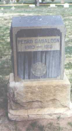 GABALDON, PEDRO - Santa Fe County, New Mexico | PEDRO GABALDON - New Mexico Gravestone Photos