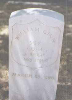 GINN, WILLIAM - Santa Fe County, New Mexico   WILLIAM GINN - New Mexico Gravestone Photos