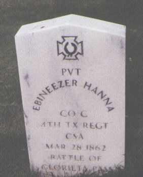 HANNA, EBINEEZER - Santa Fe County, New Mexico | EBINEEZER HANNA - New Mexico Gravestone Photos