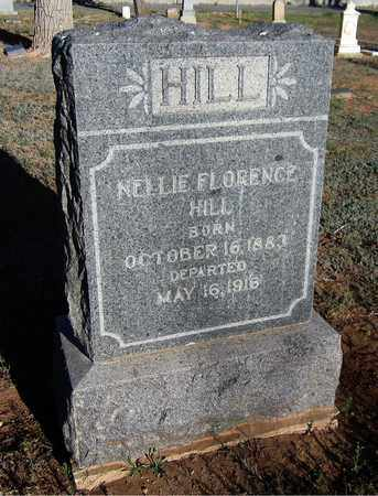 HILL, NELLIE FLORENCE - Santa Fe County, New Mexico | NELLIE FLORENCE HILL - New Mexico Gravestone Photos