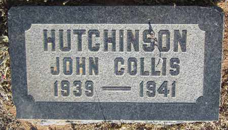 HUTCHINSON, JOHN COLLIS - Santa Fe County, New Mexico | JOHN COLLIS HUTCHINSON - New Mexico Gravestone Photos