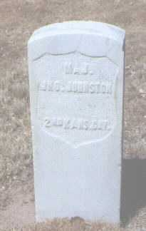 JOHNSTON, JOHN (JNO.) - Santa Fe County, New Mexico | JOHN (JNO.) JOHNSTON - New Mexico Gravestone Photos