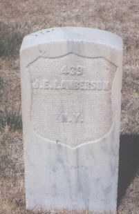 LAMBERSON, JAMES E. - Santa Fe County, New Mexico | JAMES E. LAMBERSON - New Mexico Gravestone Photos