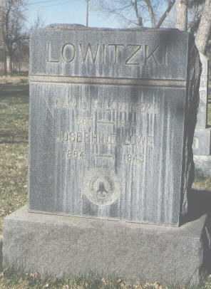 LOWITZKI, JOSEPHINE - Santa Fe County, New Mexico | JOSEPHINE LOWITZKI - New Mexico Gravestone Photos