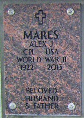 MARES, ALEX (ALEJANDRO) JOAQUIN - Santa Fe County, New Mexico | ALEX (ALEJANDRO) JOAQUIN MARES - New Mexico Gravestone Photos