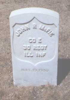 MCFIE, JOHN R. - Santa Fe County, New Mexico   JOHN R. MCFIE - New Mexico Gravestone Photos