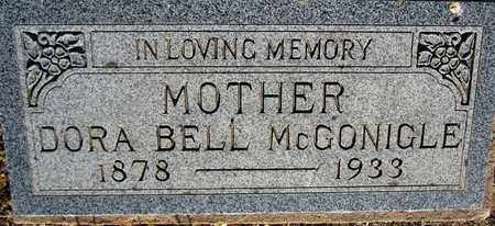 MCGONIGLE, DORA BELL - Santa Fe County, New Mexico   DORA BELL MCGONIGLE - New Mexico Gravestone Photos