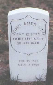 NEFF, JOHN BOYD - Santa Fe County, New Mexico | JOHN BOYD NEFF - New Mexico Gravestone Photos