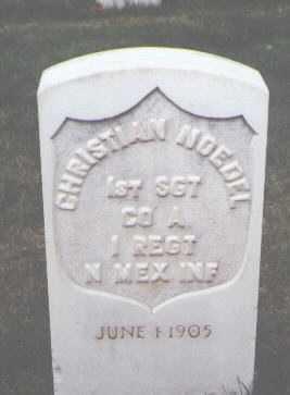 NOEDEL, CHRISTIAN - Santa Fe County, New Mexico   CHRISTIAN NOEDEL - New Mexico Gravestone Photos