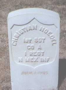 NOEDEL, CHRISTIAN - Santa Fe County, New Mexico | CHRISTIAN NOEDEL - New Mexico Gravestone Photos
