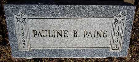 PAINE, PAULINE B. - Santa Fe County, New Mexico | PAULINE B. PAINE - New Mexico Gravestone Photos