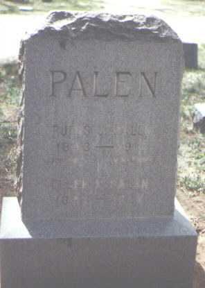 PALEN, RUFUS J - Santa Fe County, New Mexico | RUFUS J PALEN - New Mexico Gravestone Photos