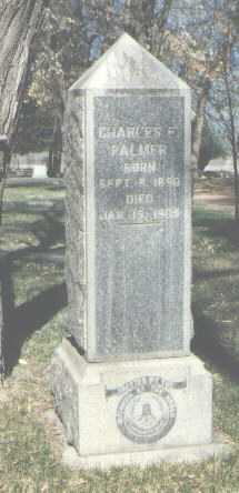 PALMER, CHARLES E. - Santa Fe County, New Mexico   CHARLES E. PALMER - New Mexico Gravestone Photos