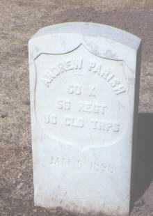PARISH, ANDREW - Santa Fe County, New Mexico | ANDREW PARISH - New Mexico Gravestone Photos