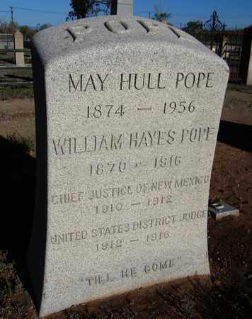 HULL POPE, MAY - Santa Fe County, New Mexico | MAY HULL POPE - New Mexico Gravestone Photos