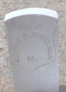 PROTZMAN, GEORGE N. - Santa Fe County, New Mexico   GEORGE N. PROTZMAN - New Mexico Gravestone Photos