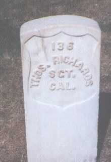 RICHARDS, THOMAS - Santa Fe County, New Mexico | THOMAS RICHARDS - New Mexico Gravestone Photos