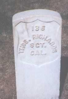 RICHARDS, THOMAS - Santa Fe County, New Mexico | THOMAS RICHARDS - New Mexico Gravestone Photos