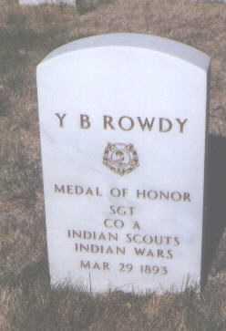 ROWDY, Y. B. - Santa Fe County, New Mexico   Y. B. ROWDY - New Mexico Gravestone Photos
