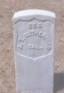 RUTHERFORD, JAMES - Santa Fe County, New Mexico | JAMES RUTHERFORD - New Mexico Gravestone Photos