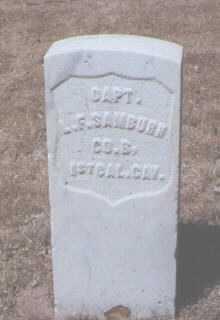 SAMBURN, LEWIS F. - Santa Fe County, New Mexico | LEWIS F. SAMBURN - New Mexico Gravestone Photos