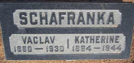 SCHAFRANKA, KATHERINE - Santa Fe County, New Mexico | KATHERINE SCHAFRANKA - New Mexico Gravestone Photos