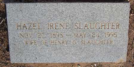 SLAUGHTER, HAZEL IRENE - Santa Fe County, New Mexico | HAZEL IRENE SLAUGHTER - New Mexico Gravestone Photos